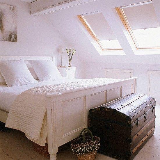 Licht Schlafzimmer Wohnideen Living Ideas Wohnen Pinterest - schlafzimmer mit schräge