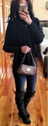 Louis Vuitton damier check bag