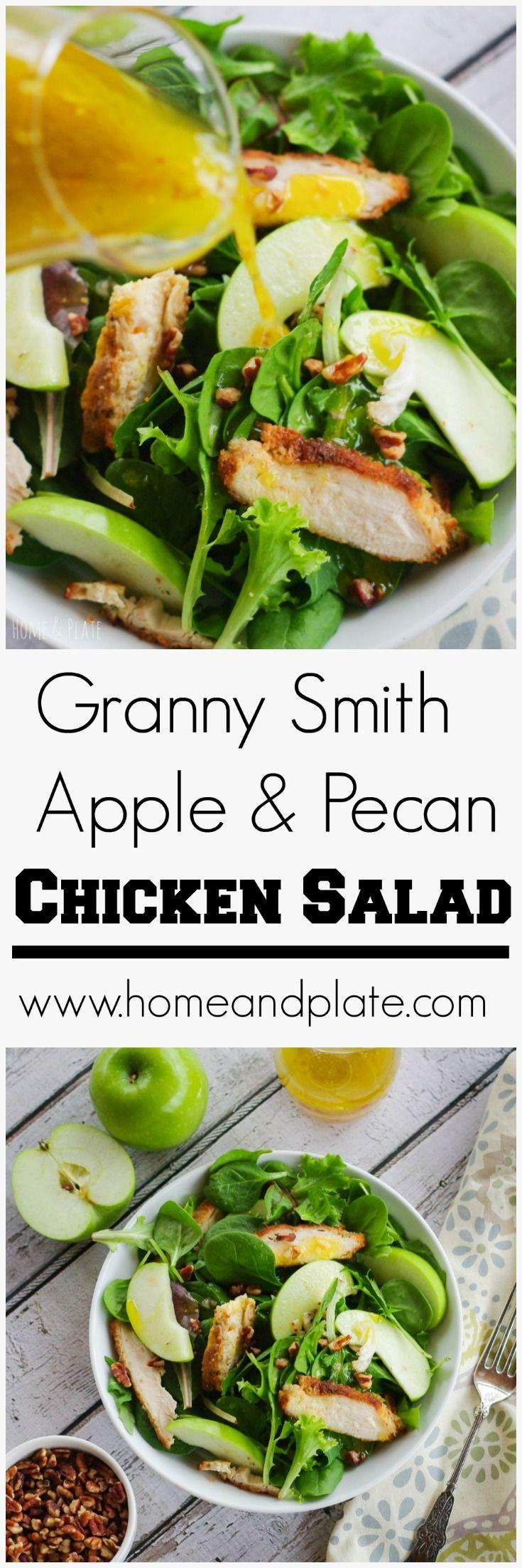 Granny Smith Apple Pecan Chicken Salad Recipe Salad