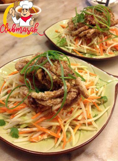 Resep Salad Nonya Hidangan Nonya Paduan Kuliner Cina Dan Melayu Club Masak Resep Salad Masakan Indonesia Salad