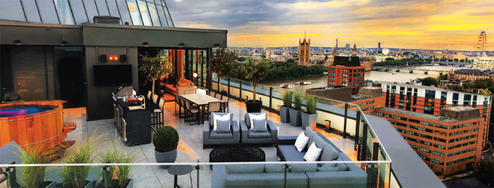 Exclusive Zone 1 Penthouse Featuring Stunning Views Of London, Located Just  Off Albert Embankment.