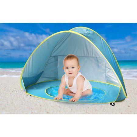 Baby Beach Tent Beach Umbrella, Sunbayouth pop up tent, UV