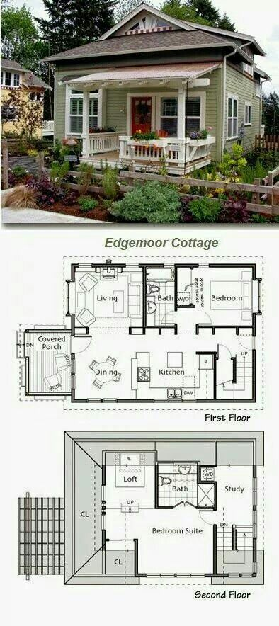 Edgemoor Cottage Plan - Ross Chapin Architects Small House Plans