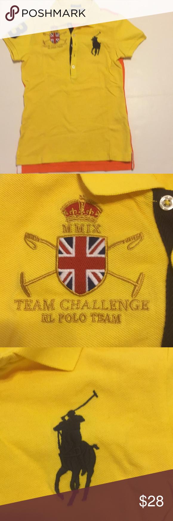 Shirt Skinny Lauren Challenge Polo Ralph The Team UVpLMGqSz