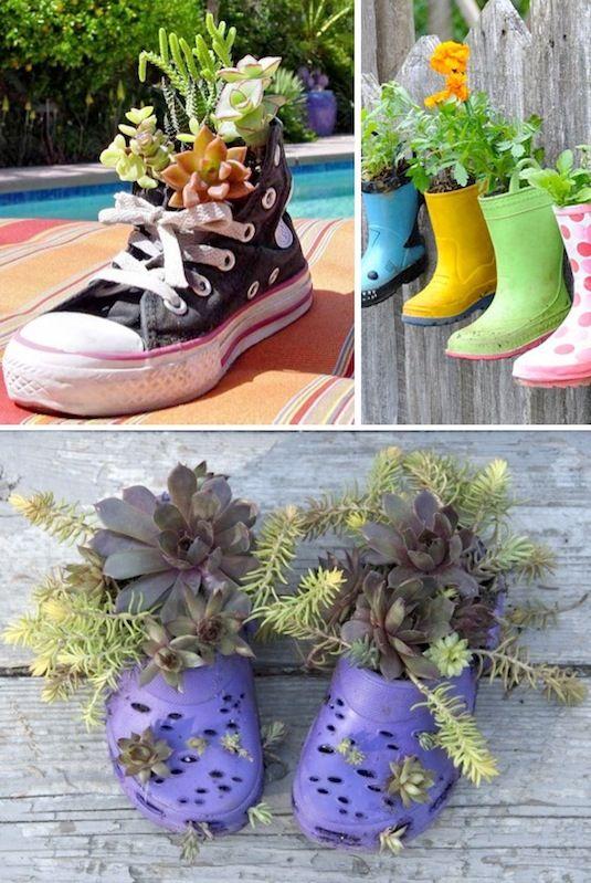 24 Creative Garden Container Ideas With Pictures Bacs De