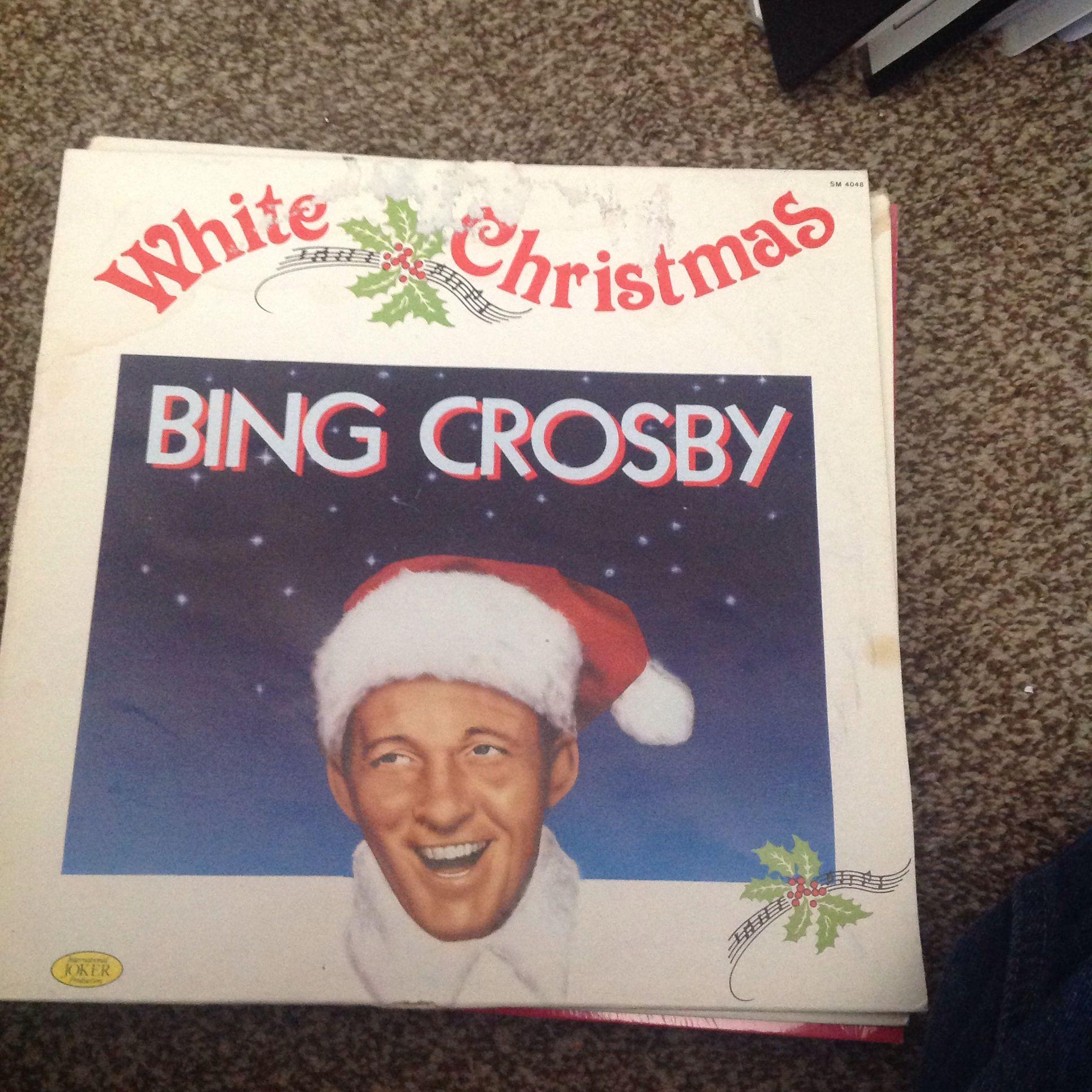 White christmas bing crosby Bing crosby, Crosby, Record