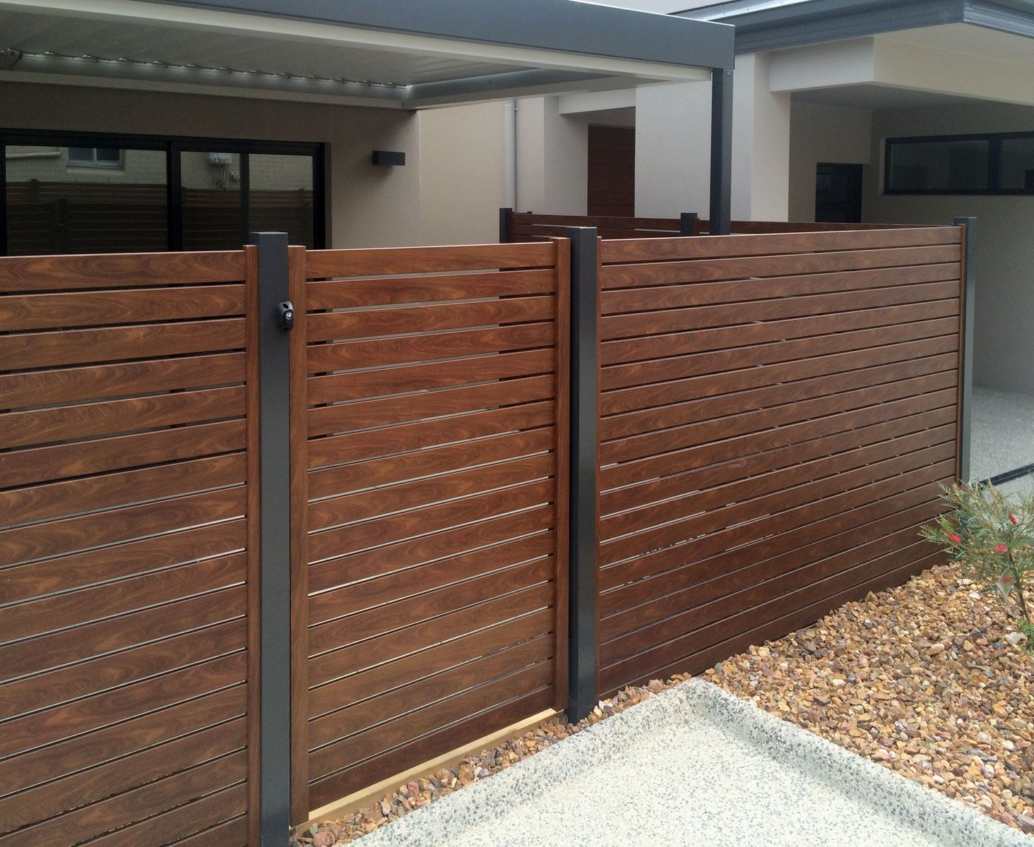 Ezi-Slat Fencing | Stratco | pathways in 2019 | Timber slats