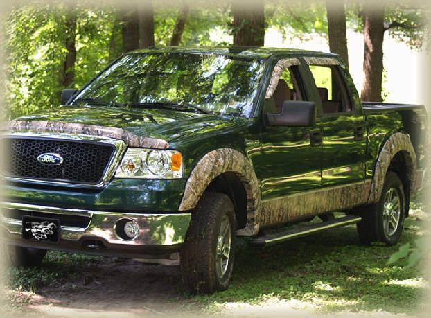 green dodge truck camo wraps | Hood Shields, SideWindow Deflectors, Mirror Caps, Extended Cab Covers ...