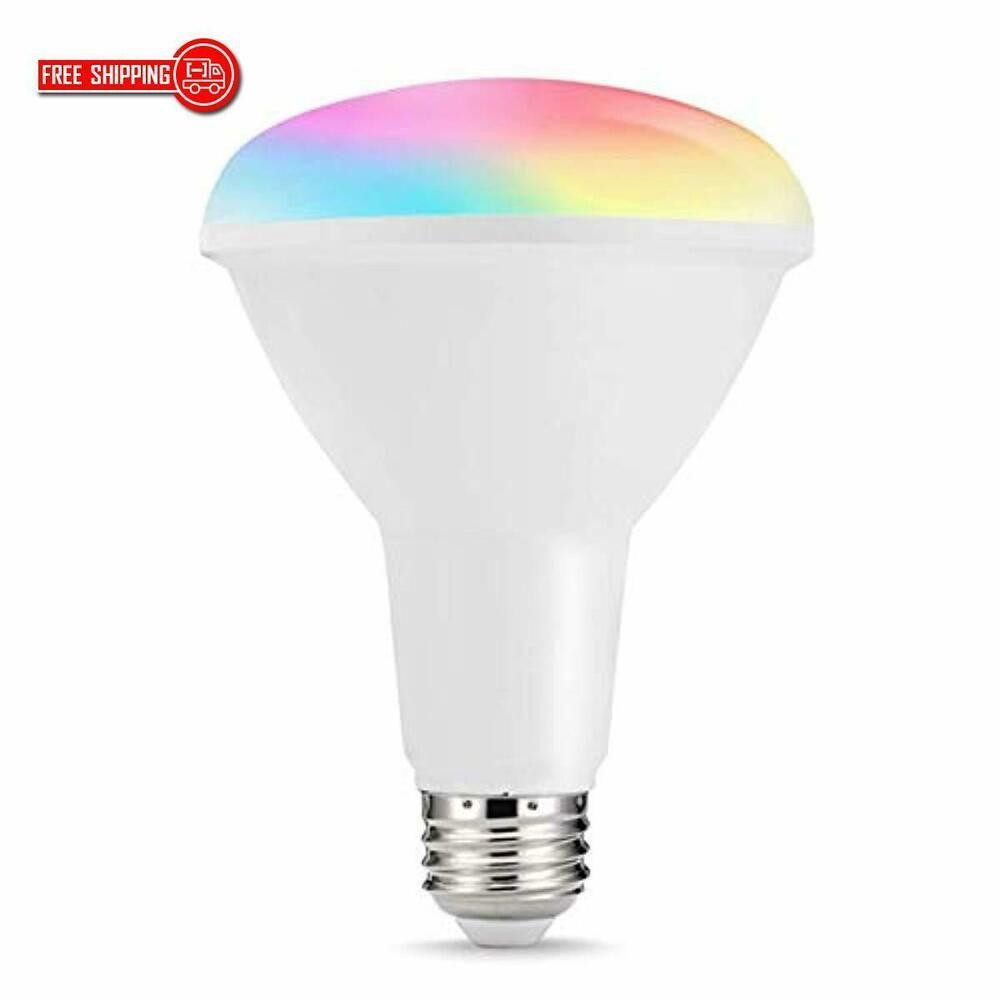 Parrot Alexa Turn On The Lights: LOHAS Smart LED Light Bulb, BR30 Dimmable WiFi LED Bulb