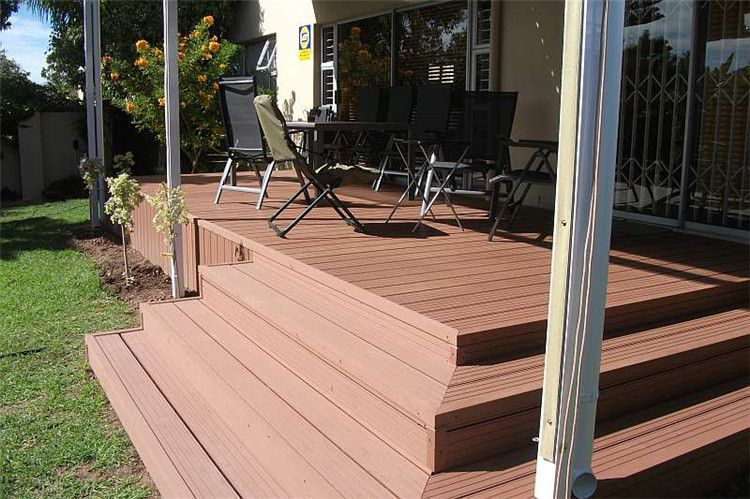 Rooftop Deck Flooring Options Outdoor Wpc Laminate Decking Floor Non Slip Textured Paint For Timber