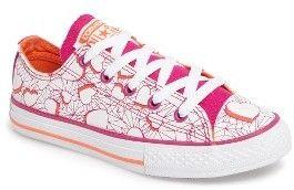 elegante en estilo disfruta del precio de descuento colores y llamativos Valentine's Day Sneaker Girl's Converse Chuck Taylor All Star ...