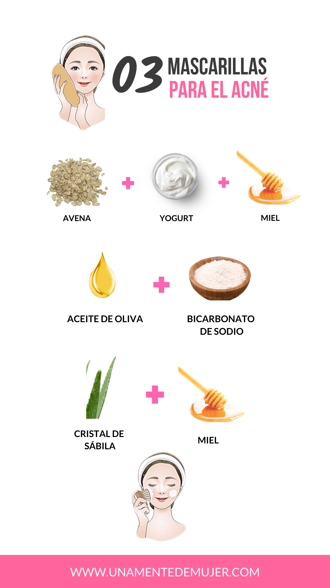 10 Remedios Caseros Para El Acné Una Mente De Mujer En 2020 Tips De Belleza Caseros Trucos Naturales De Belleza Tips De Belleza Naturales