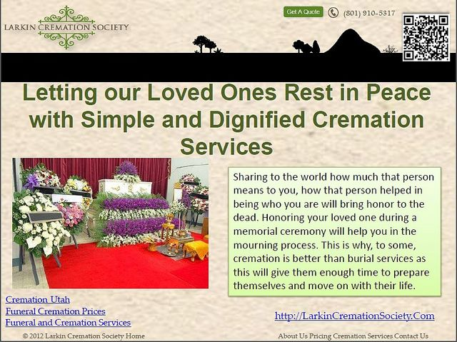Cremation Utah - Sharing To The...