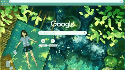 Artsy Anime Aesthetic Wallpaper Desktop Aesthetic Chrome Themes Themebeta Illustration Wallpaper Hd Art 4k Wallpapers For Desktop And Pin On Computer Wallpa