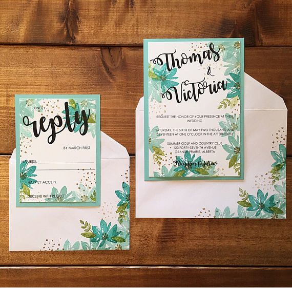 32 summer wedding invitations - Summer Wedding Invitations