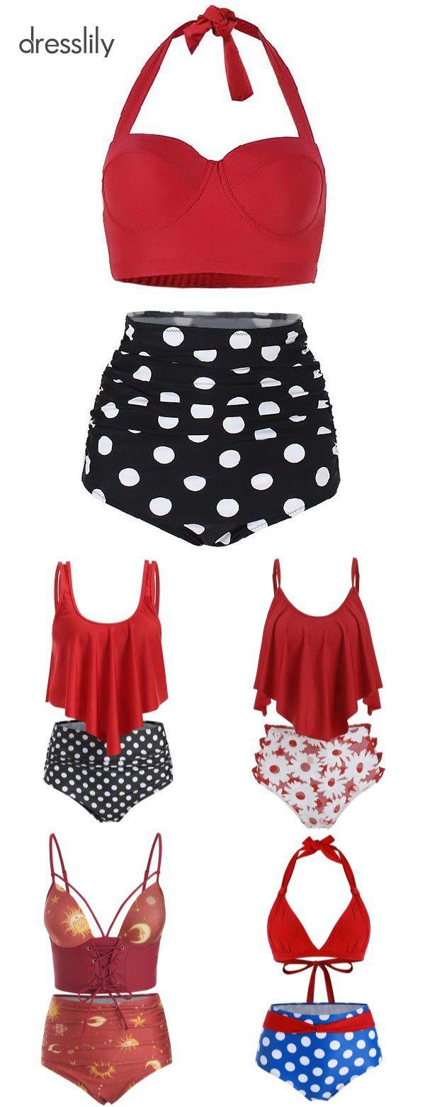 Women's Swimwear | Swimwear & Beachwear for Women 2020 trends high waisted  swimwear for women
