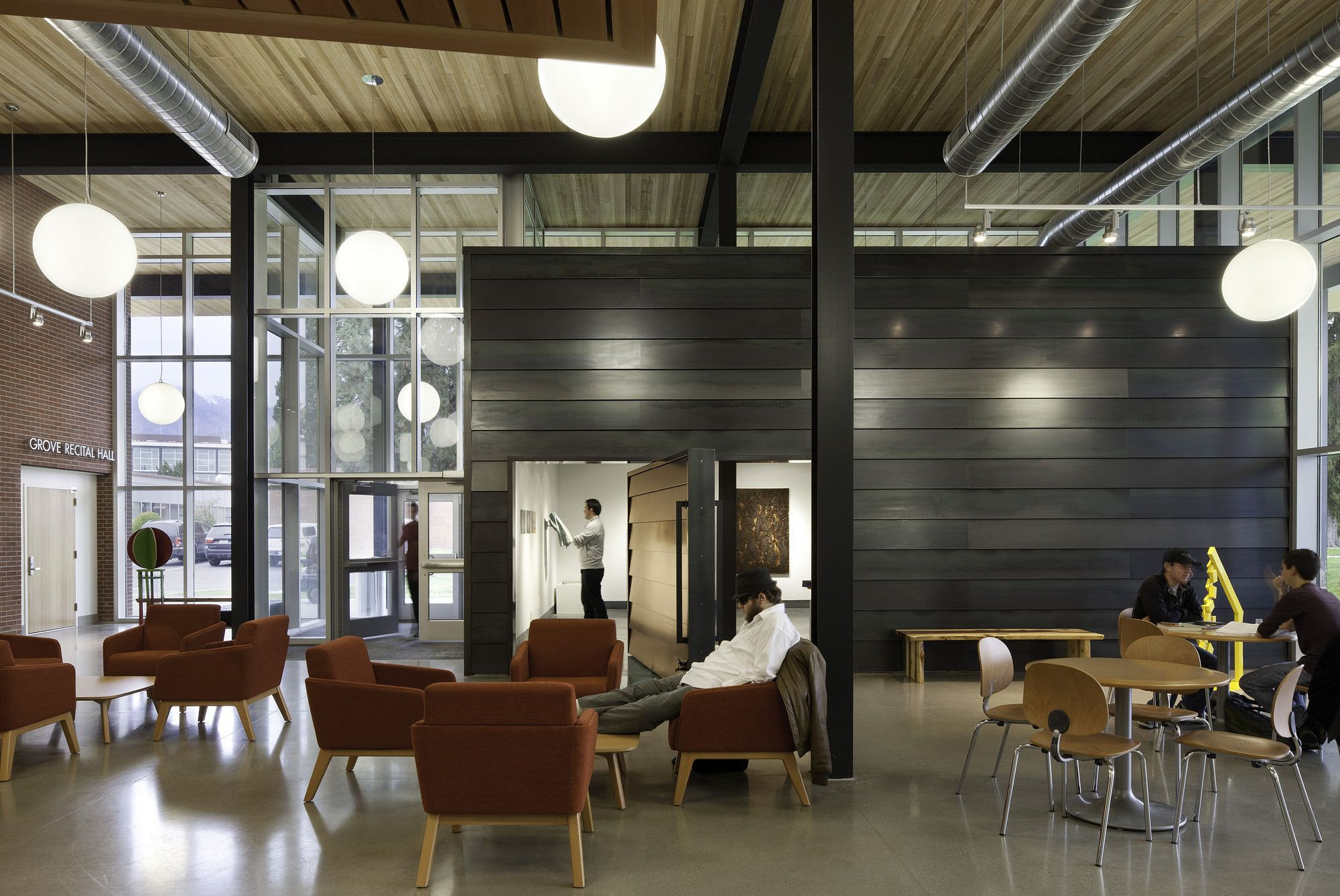 Gallery Of Wenatchee Valley College Music And Arts Center Integrus Architecture 8 Hotel Interior Design Beautiful Interior Design Office Interior Design