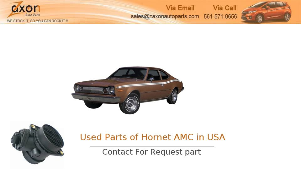 If You Are Search for Parts of Hornet AMC Market in USA by ...