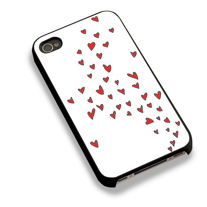 Flying Hearts Love Pattern For iPhone 6 Case