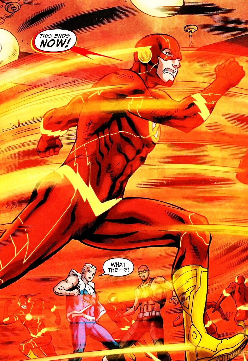 The Flash 11 Written By Francis Manapul Brian Buccellato Art By