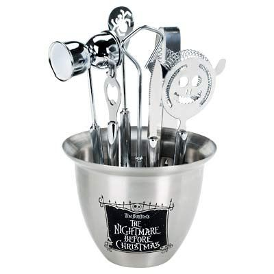 Nightmare before christmas bar accessorie set 11pc | Ice tongs ...