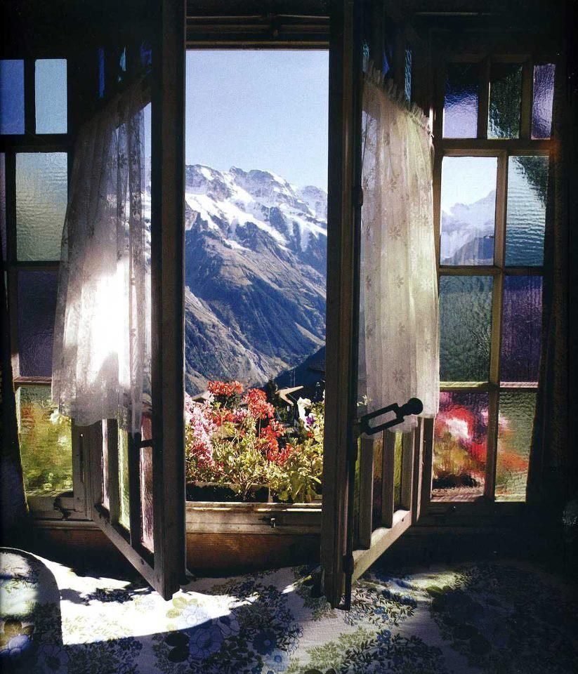 Exhilarating View With Paned Doors Windows To Let The Into House