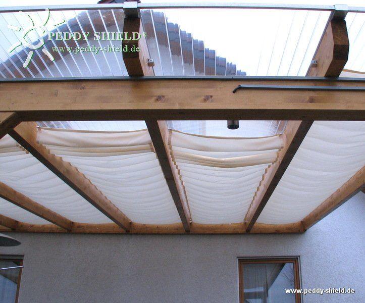 Ombrage pour une terrasse sans couverture en verre ou en ...