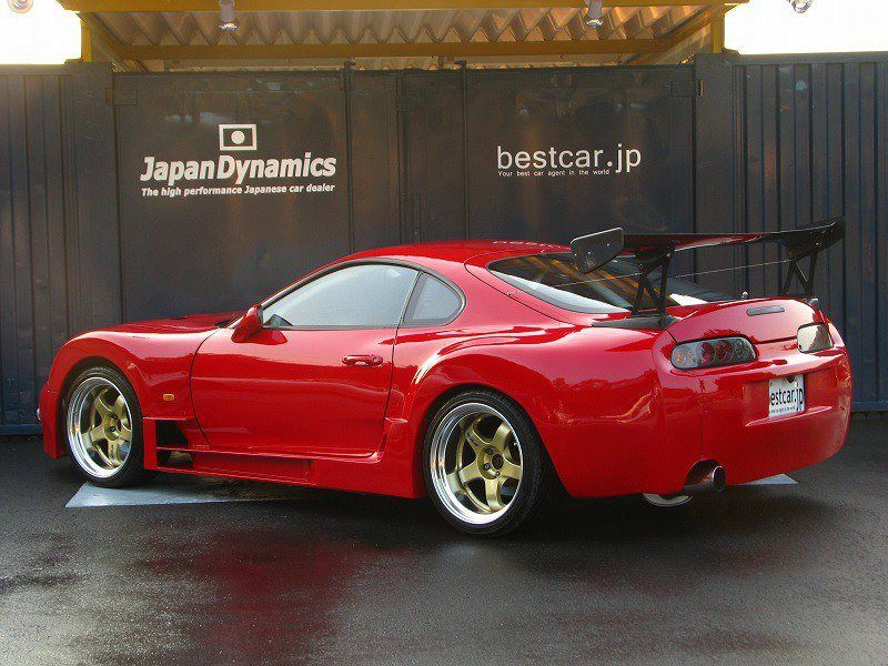 49339c6c362a Good looking Supra with a body kit.