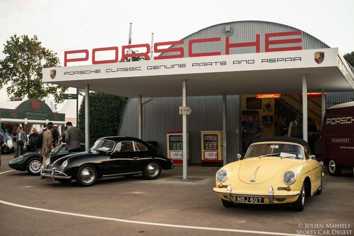 Resultado de imagen de porsche 356 repair garage