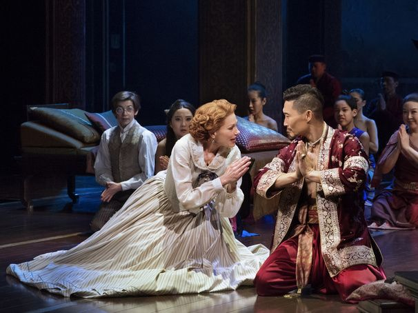"""Marin Mazzie and Daniel Dae Kim star in """"The King and I"""" at Lincoln Center, a stunning and lovely show."""