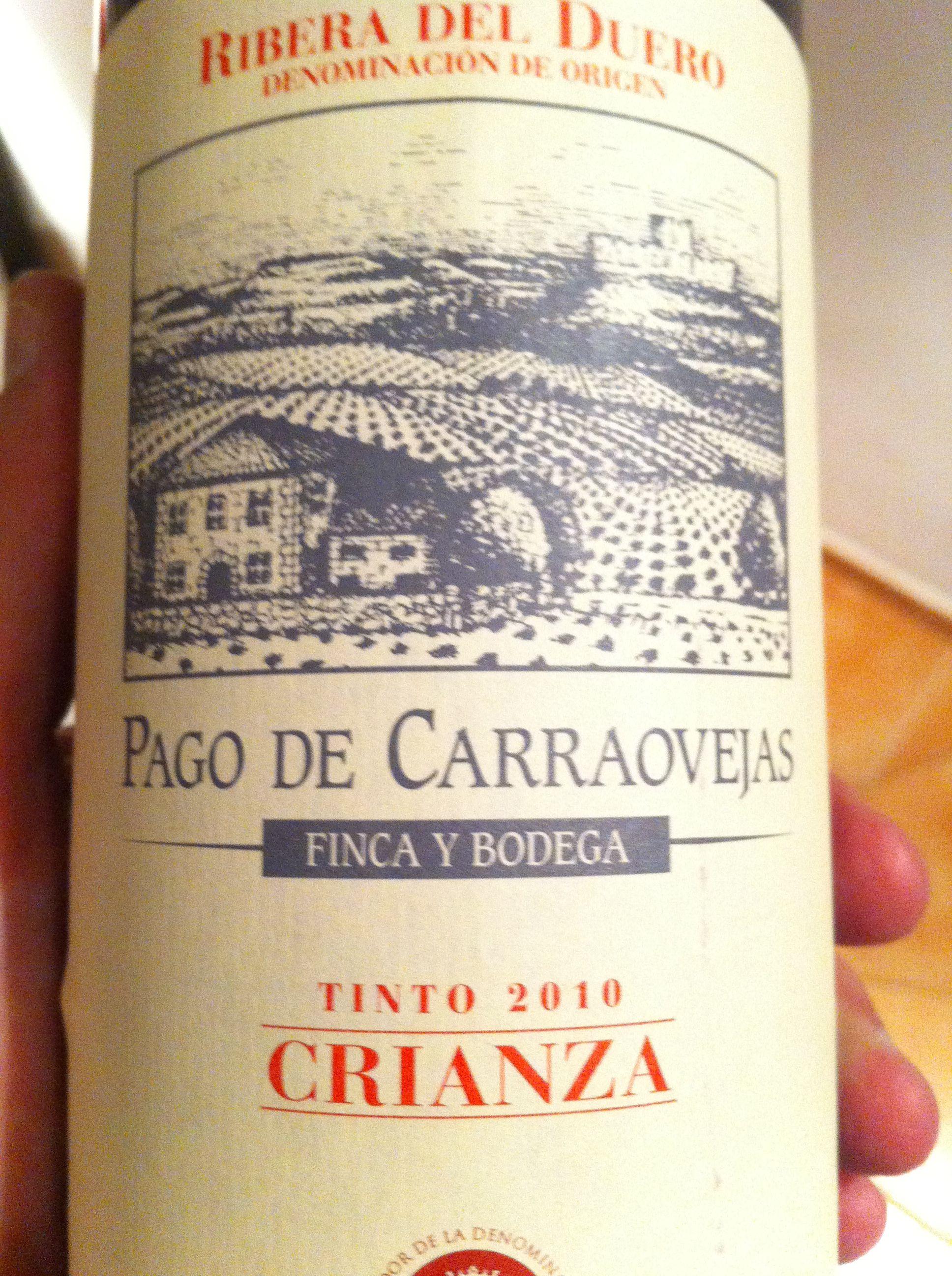 Pago De Carraovejas Crianza 2010 Ribera Del Duero Vinos Buenos