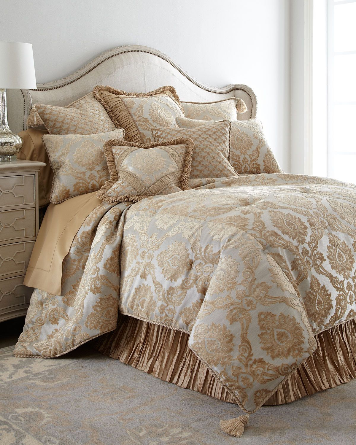 Bedding jardin collection bedding collections bed amp bath macy s - Allure King Comforter Set
