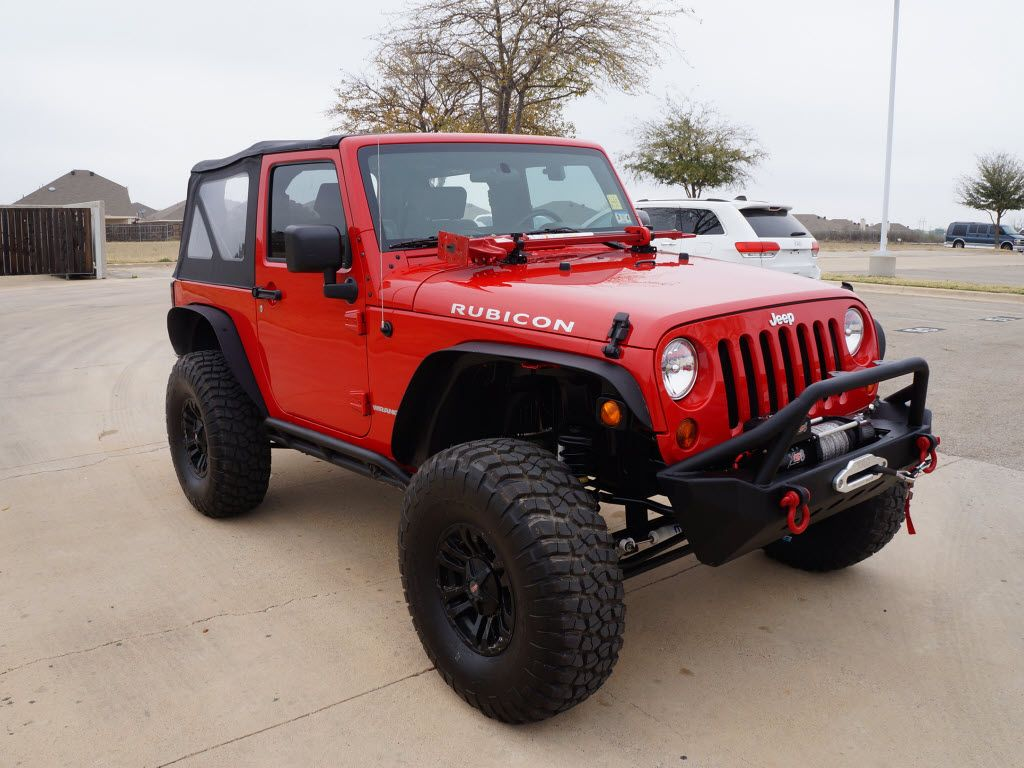 2014 jeep wrangler rubicon lifted hd pre owned jeep