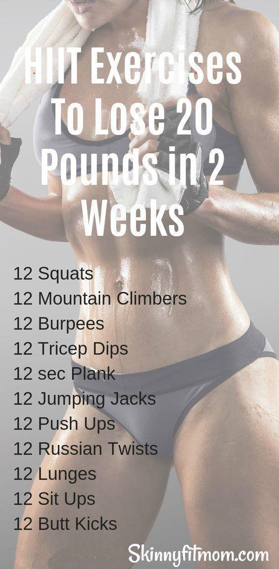 Wenn Ihr Ziel ein schnellerer Gewichtsverlust ist werden Sie in 2 Wochen 20 Pfund verlieren   fitness exercise motivation
