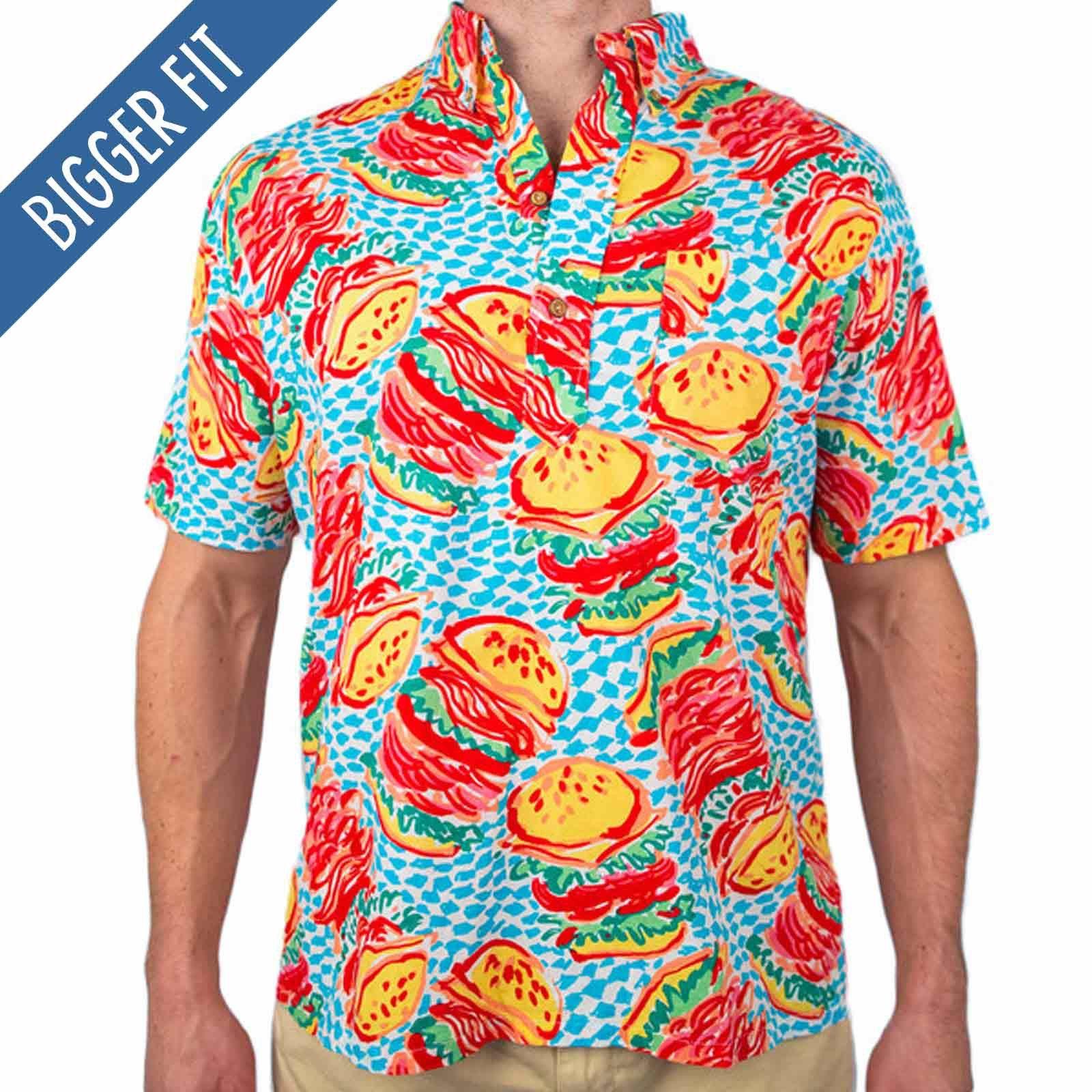 The medium rare chubbies hamburger nutter shirt chubbies shorts