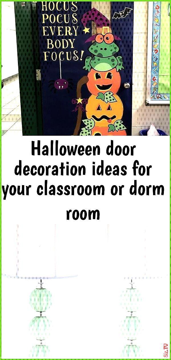 Halloween door decoration ideas for your classroom or dorm room Halloween door decoration ideas for
