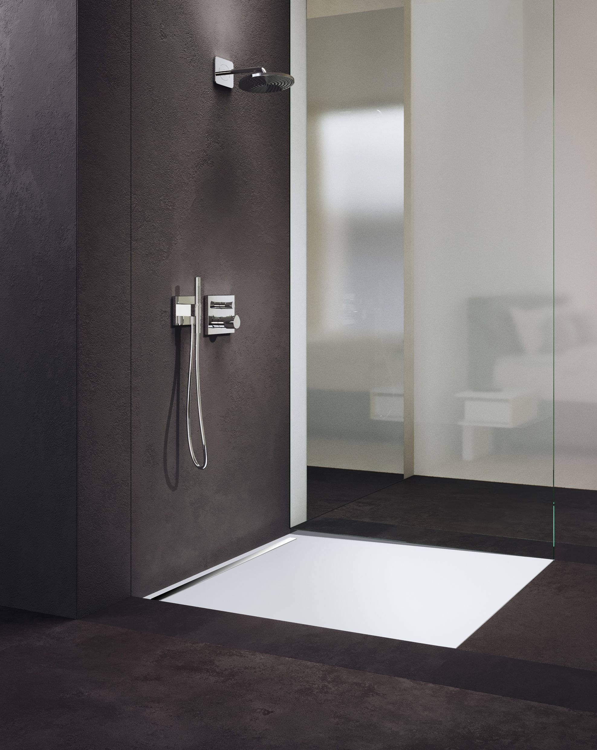 Kaldewei NexSys is an innovative 4in1 showerfloor