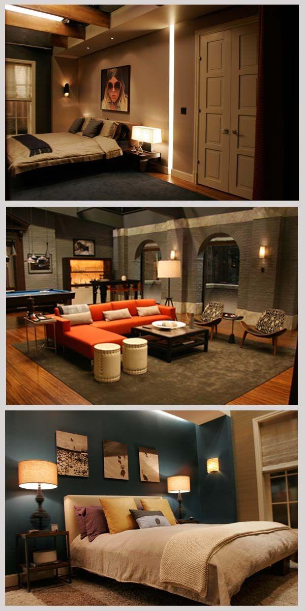 Gg Gossip Girl Manly Living Room Basement Remodeling
