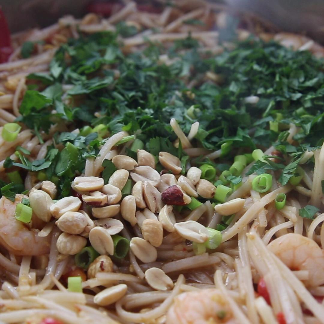 Pad Thai -   18 healthy recipes Shrimp tofu ideas