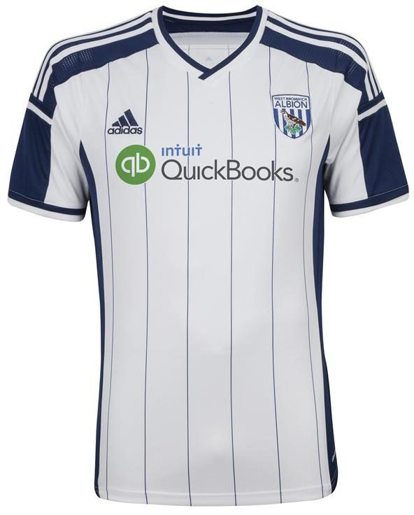 410cf2dd135 West Bromwich 14-15 Home Kit