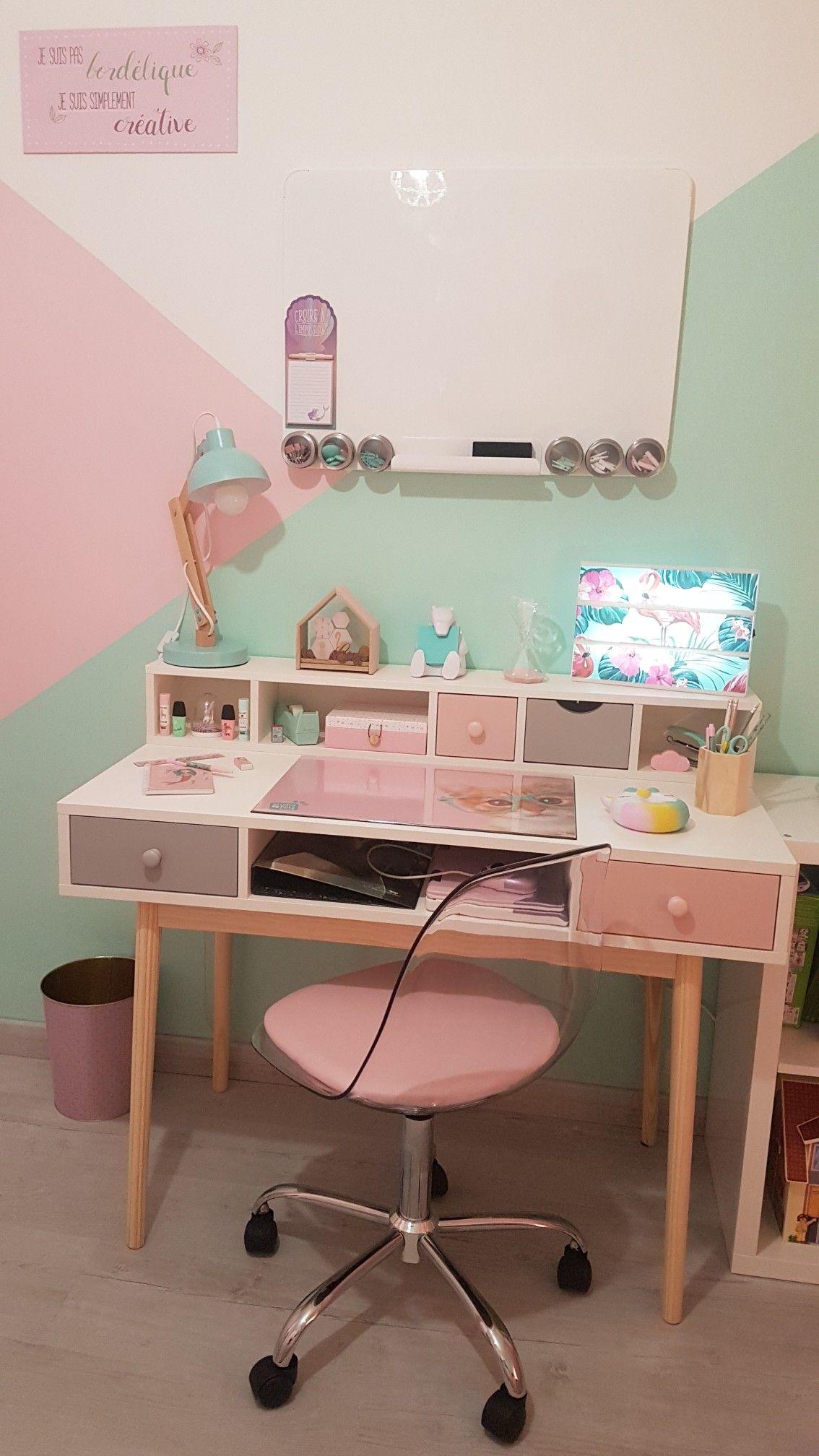 Chambre De Ma Fille Bureau Maison Du Monde Chaise Conforama