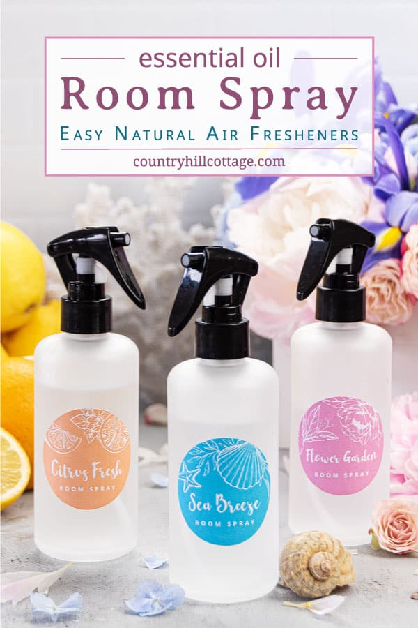 Homemade Room Spray with Essential Oils in 2020 Homemade