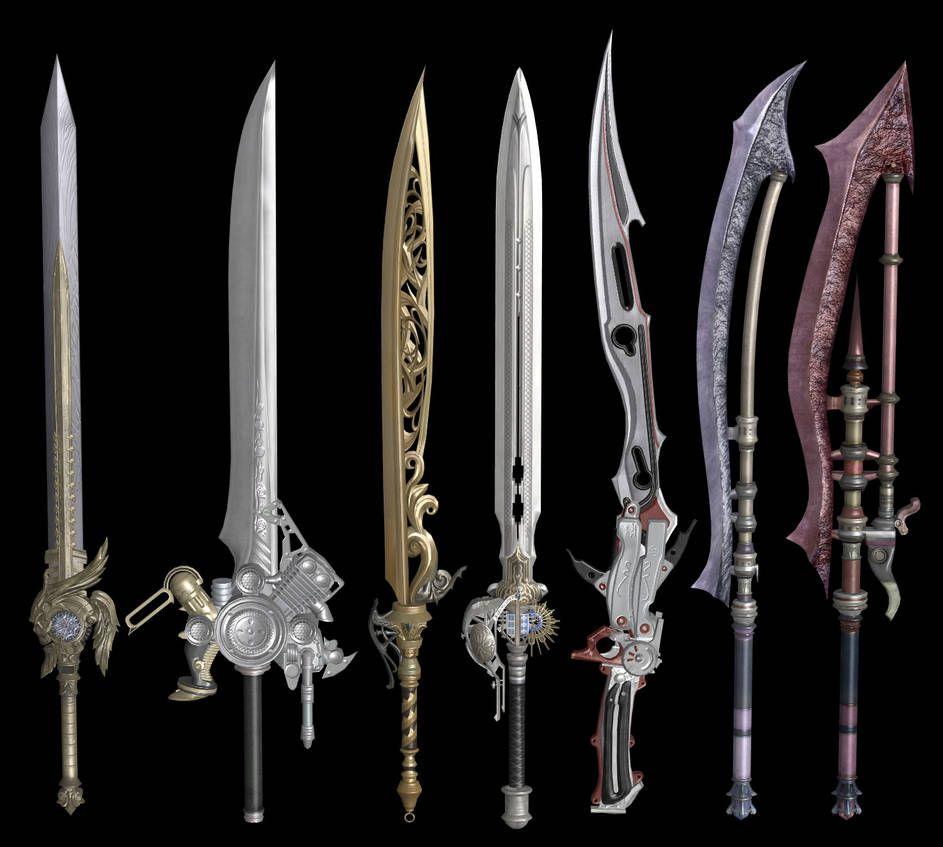 Final Fantasy XV: Swords XPS by Xelandis | Sword in 2019 | Final