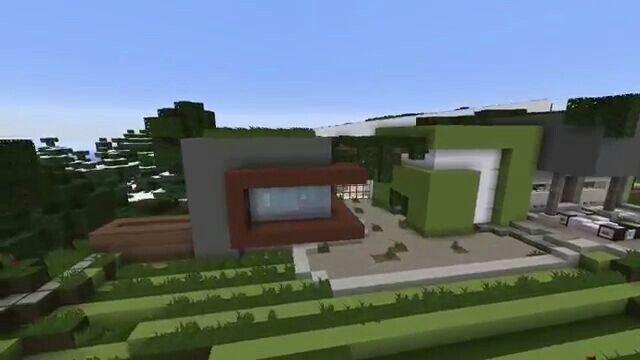 World of Keralis modern mansion interior Minecraft Pinterest
