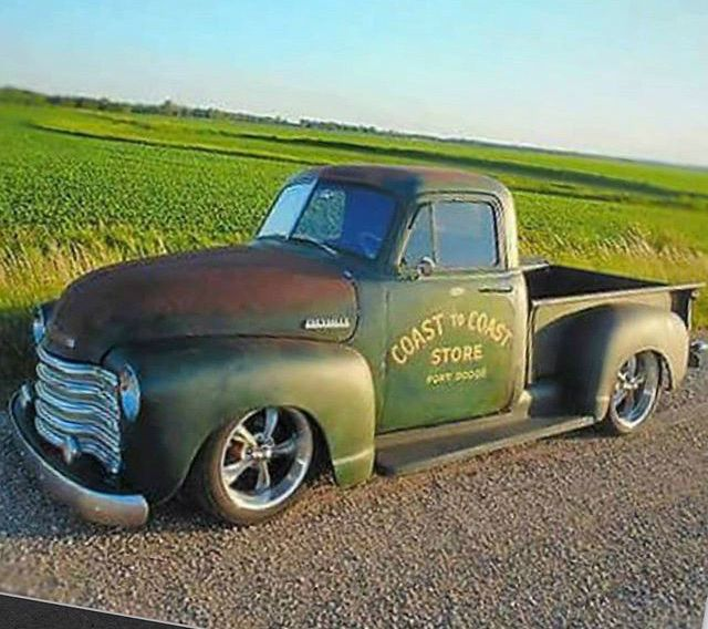 Chevrolet Patina Truck 47 53 Ad Make Some Of The Sharpest Ridler 695 In Grey Set It Off Let Classic Pickup Trucks Chevy Pickup Trucks Vintage Pickup Trucks