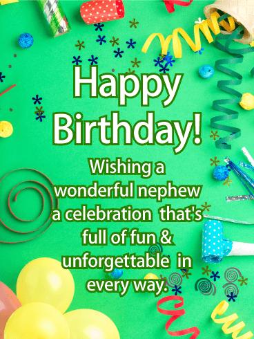 Unforgettable Day Happy Birthday Card Birthday Greeting Cards By Davia Happy Birthday Nephew Birthday Greetings For Nephew Birthday Card For Nephew