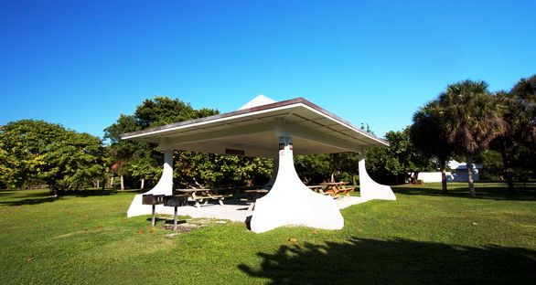 Picnic Pavillion at Bill Baggs Cape Florida State Park (Key Biscayne, Florida)