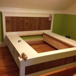 Farmhouse King Bed Plans Ana White Remodeling Ideas Bed Bed