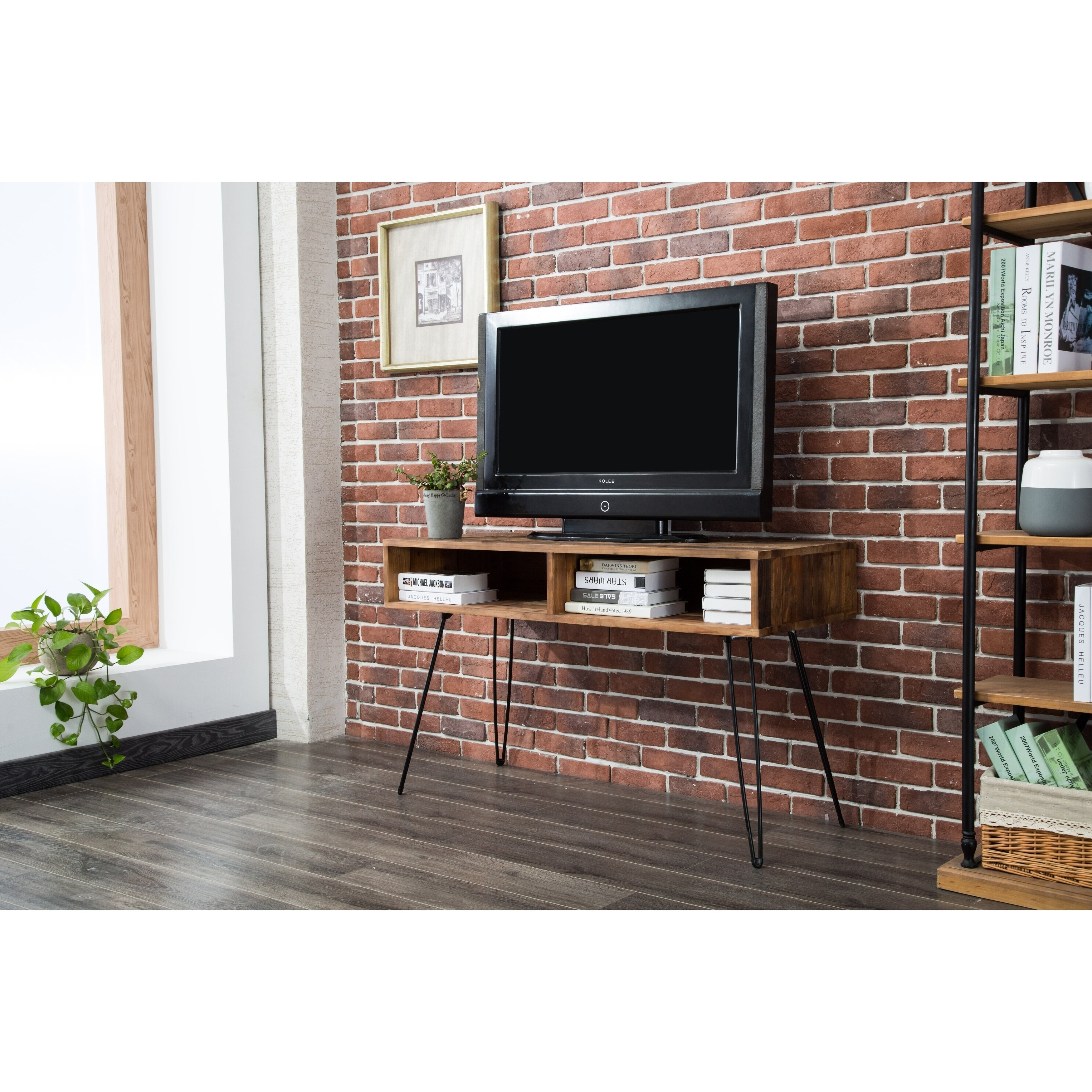 Our best living room furniture deals carbon loft lee reclaimed fir 48 inch tv stand natural wood brown