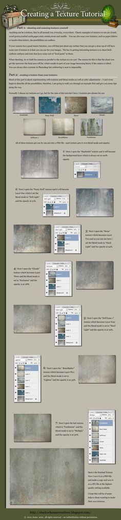 All sizes | Creating A Texture Tutorial | Flickr - Photo Sharing!